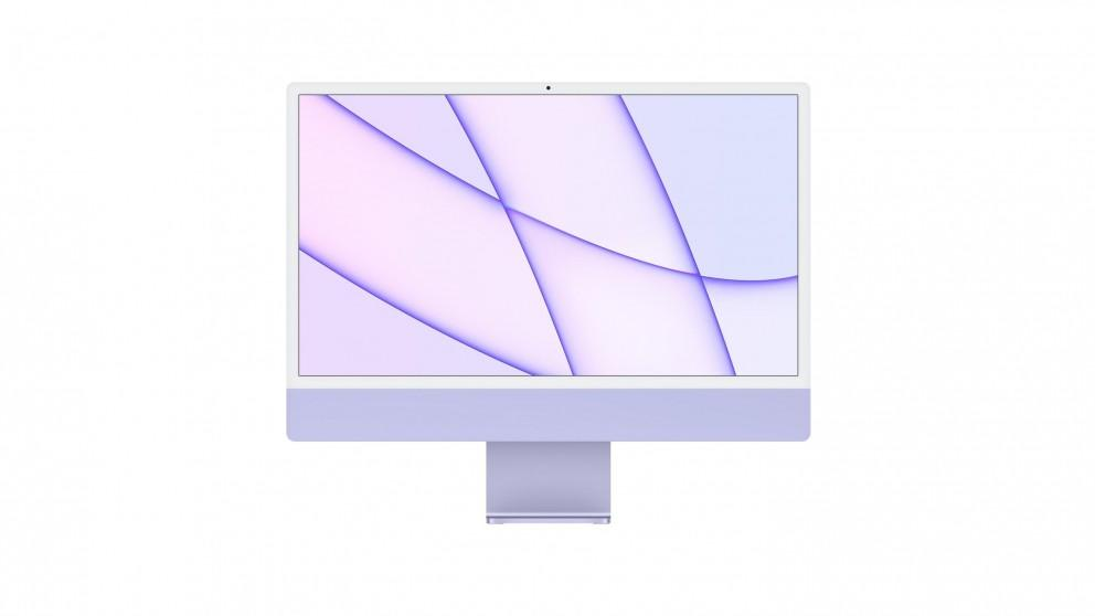 Apple 24-inch iMac M1 8-Core CPU/8GB/256GB SSD with Retina 4.5K Display – Purple
