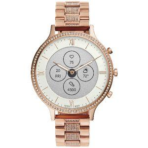 Fossil Charter Hybrid HR Smartwatch Rose Gold Stainless Steel
